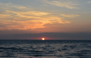 #JohnBarryMiler- Clearwater Beach Sunset in 2013