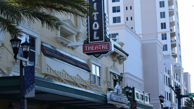Capitol Theater in Downtown Clearwater FL