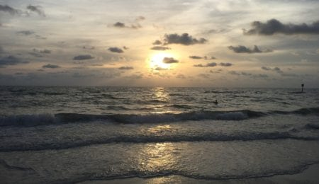Sunset in Clearwater Beach, FL