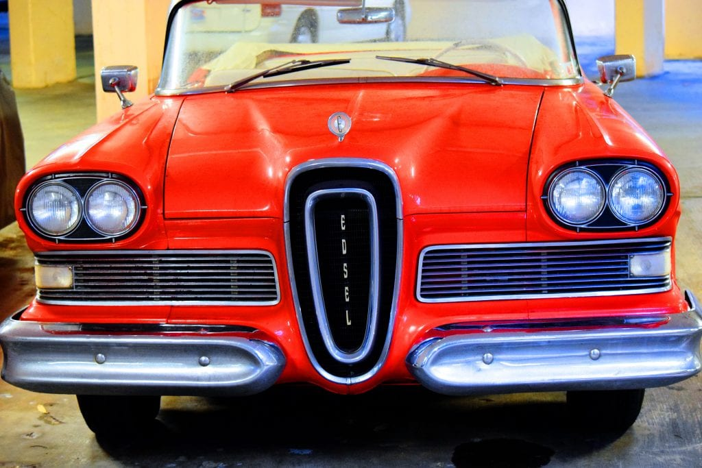 Edsel Car manufactured by the Ford Motor Company