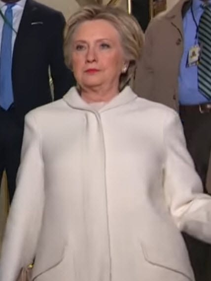Hillary Clinton Enjoys Of Te Protest in Reponse of Donald Trumps' Inaguration
