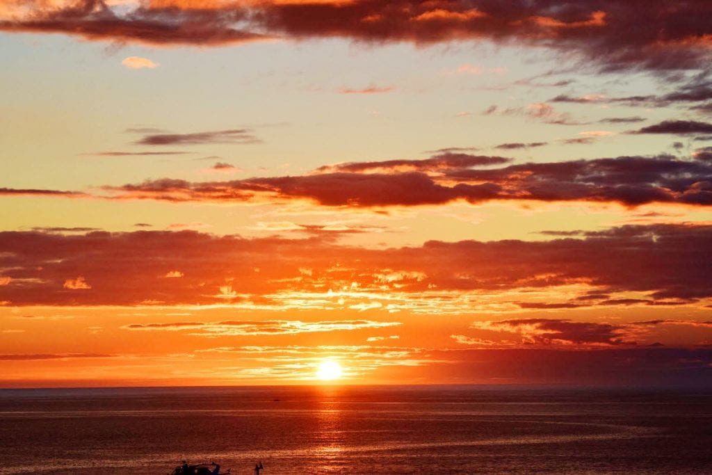Golden #Sunset in Clearwater Beach Florida by John Barry Miller