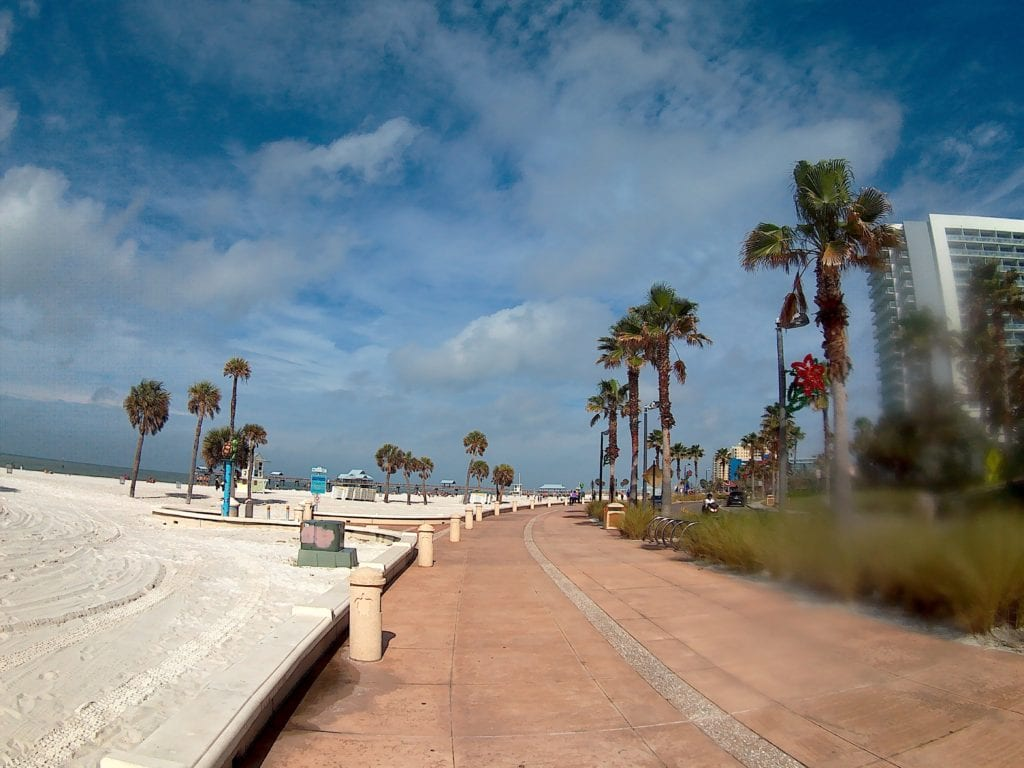 Winter Time in Clearwater Beach, Florida